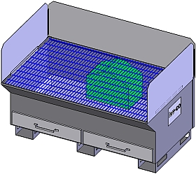 dt-35-downdraft-table - Main Image