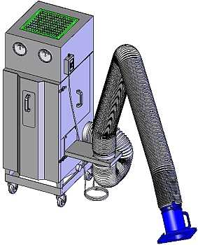 multi-flex-portable-mist-collector - Main Image