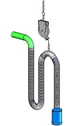 vehicle-exhaust-extraction-system-with-balancer-hose-suspension - Main Image